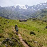 Wanderung in Engelberg nahe Älplerseil
