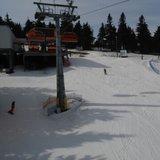 Zieleniec Ski Arena - Jak na tą porę to warunki super. Zwłaszcza do 13-14. - ©Greg
