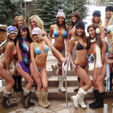 Aspen - Bikini ski konkurrence 2013