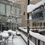 Fresh Snow in Keystone - April