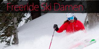 12 Freeride-Ski für Damen im Test: Die besten Powderlatten für Girls