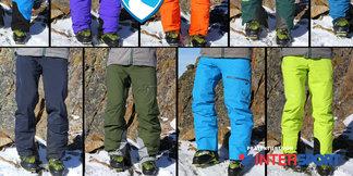 Neun Skihosen für kalte Tage im Skiinfo-Test: Was können die Modelle der Saison 2014/2015?