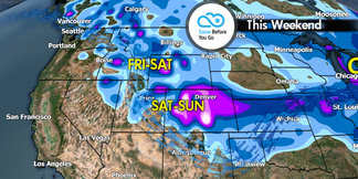 Snow Before You Go: Shifting Storm Track to Deliver Weekend Powder - ©Meteorologist Chris Tomer