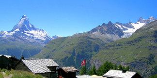 Trail Arena in Zermatt: Der Gipfel für Biker