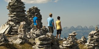 Steinmänner - ©Heidiland Tourismus