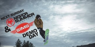 Never Summer & Sims Snowboard Demo Day  - ©Test their latest boards!
