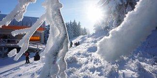 Zieleniec w pięknej zimowej odsłonie - ©Zieleniec Ski Arena