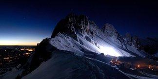 La Laetitia Roux 2017, du ski alpinisme en nocturne - ©La Laetitia Roux