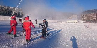Retour station skis aux pieds à Superdévoluy et La Joue du Loup - ©OT du Devoluy