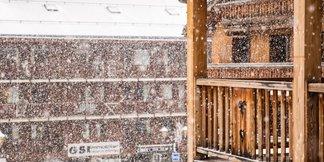 Snehové správy: Naďalej sneží a lyžiarske podmienky sú lepšie ako výborné - ©facebook Méribel