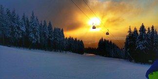 Hra svetiel a snehu - ©SkiResort ČERNÁ HORA - PEC facebook