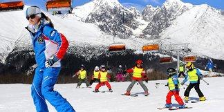 Jarné prázdniny sú príležitosťou naučiť sa lyžovať - ©archív TMR
