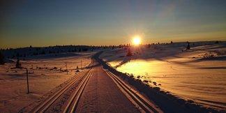 Vinterstemning og nydelige forhold - ©Arne Nibstad