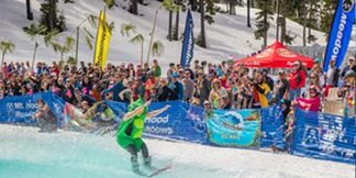 Sno-Kona Pond Skim - ©Dave Tragethon / Mt. Hood Meadows