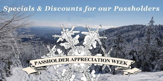 Season Passholder Appreciation Week - ©7 days of great specials and discounts for 16/17 season passholders!