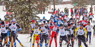 Skogsloppet Cross Country Ski Race  - ©D. Moore
