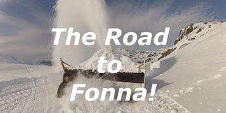 Start sezonu na lodowcu Fonna