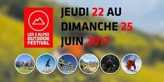 LES 2 ALPES OUTDOOR FESTIVAL : un concentré de montagne en version estivale