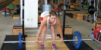 Ski Exercises: Romanian Deadlift - ©Dan Kasper