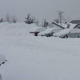 Fresh snow in Austria Dec. 27, 2014