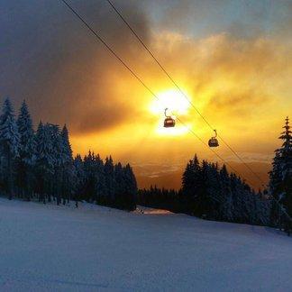 De magie van licht en sneeuw. - ©SkiResort ČERNÁ HORA - PEC facebook