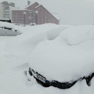 50cm of powder for French Alps Feb. 6, 2017 - ©Alpe d'Huez/Facebook