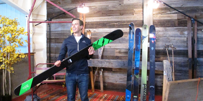 Ski Review Videos Behind the Scenes: Old School Meets New Skis