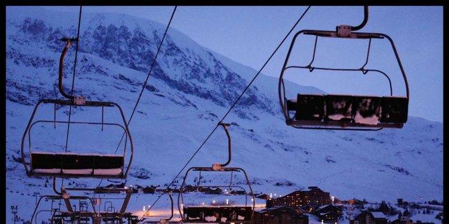 Schneebilder aus den Alpen (17./18.12)