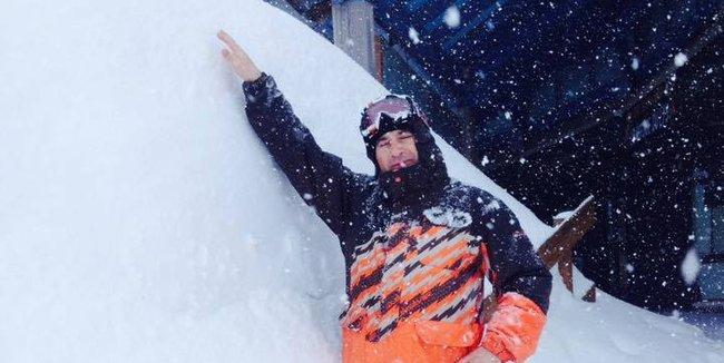 Pyreneje pod sněhem