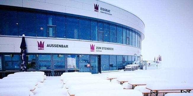 Neuschnee in der Nachosterwoche - Winter is not over! - ©Facebook Stubaier Gletscher