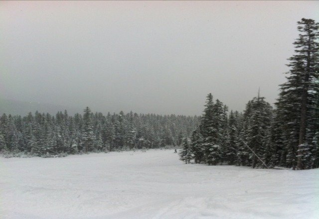 Awesome conditions today