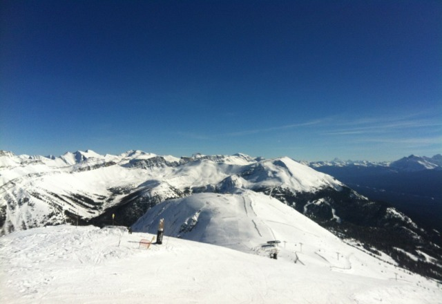bluebird day yeaterday.. i would eait until the afternoon for the snow to soften up!