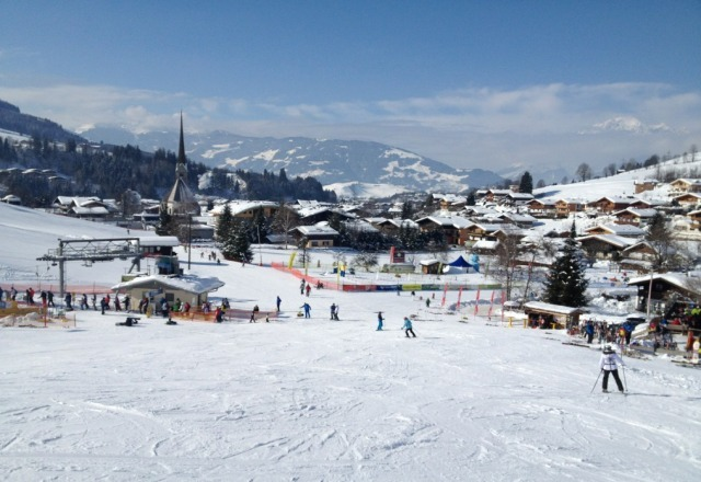 tons of snow in hochkonig area ans sunny spring like conditions yesterday in Maria Alm