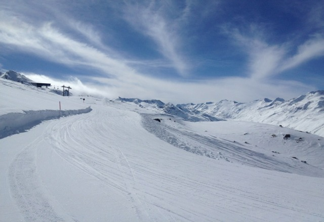 Hochgurgl - excellent skiing conditions.