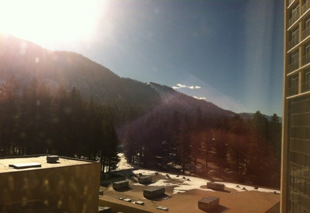 50 degree temps over the last 5 days! everything in tahoe is ice or as they prefer to call it SNICE ha ha