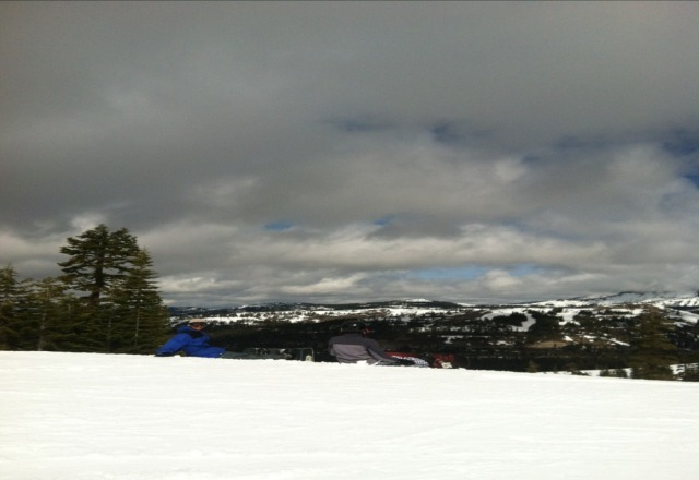 Rained damn near all day today... lil slushy, but hey... still a great day of skiing and boarding!