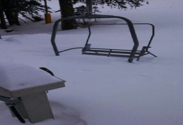 6 chair got over a foot for sure