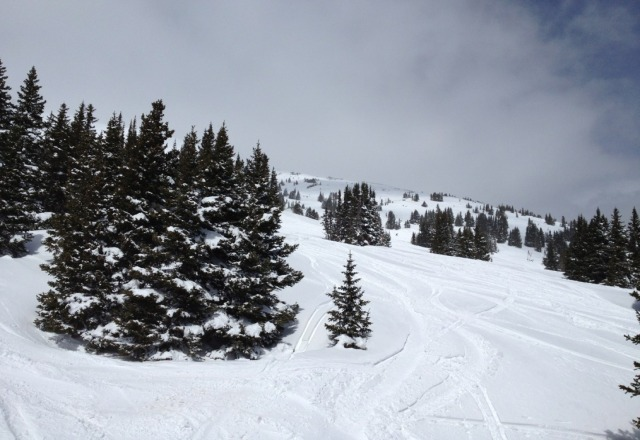 amazing day. best conditions of the season and it's April 19!