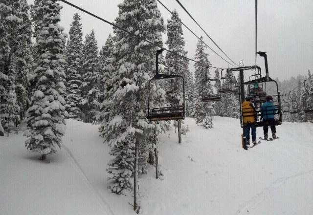 Few trails open due to avalanche risk, but plenty of pow!