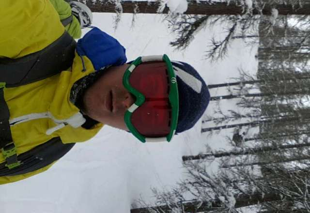 been riding pow all day - untracked all over shop. sweet
