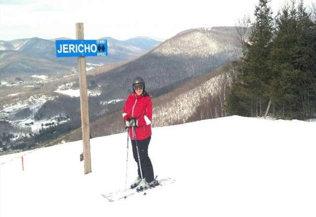 Great day for skiing at Jiminy