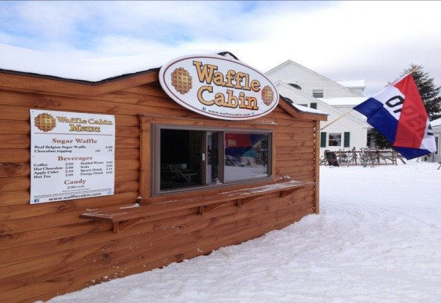 new waffle cabin is open