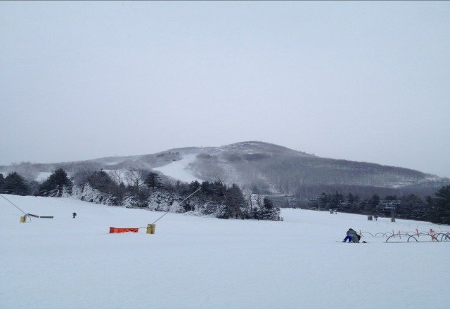 sick conditions, awesome day snow everywhere, dumped all day