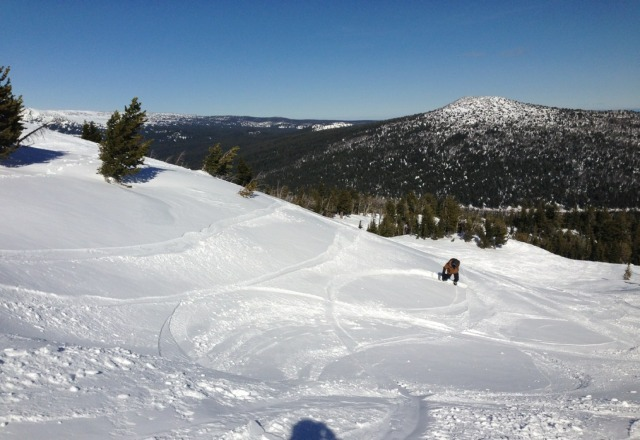 President's Day weekend, no new snow in 10 days... and still this! Love Bachelor.