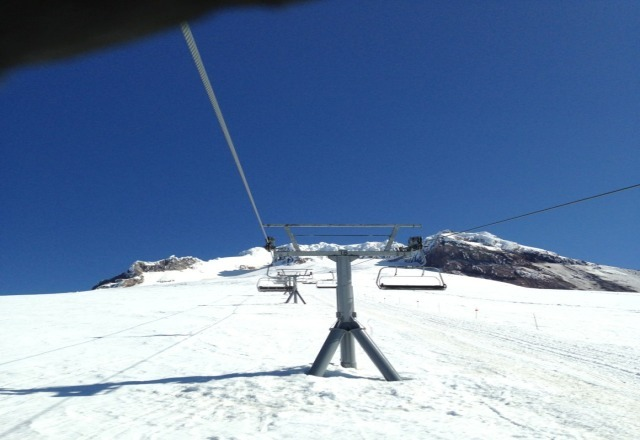 Boarded at Timberline for the 1st time yesterday. Awesome Sunny Spring conditions & had Palmer all to myself. Logged almost 10k vertical feet in 2 hours. Can not wait to go back up this Sat. again.