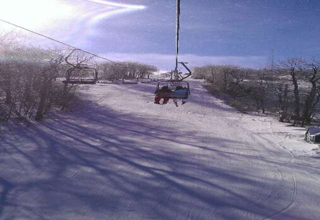 the snow was sweet today Monday or Tuesday triple should be open