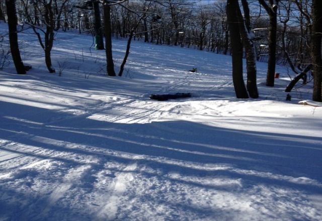 Great blue bird day! Good several inches of fresh snow. Lifts were not crowded. Hidden Valley is a great value!