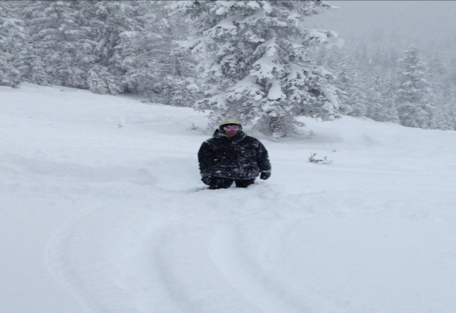 this is real powder in vail. no way is any day at seven springs better than a bad day in colorado