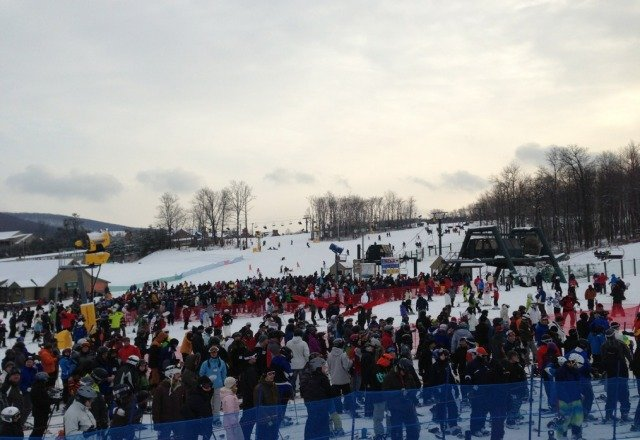 amazing conditions but soo crowded