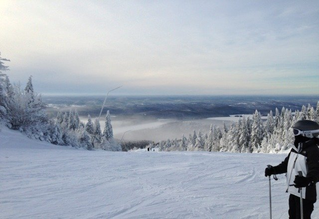 Amazing day at Mont Tremblant.